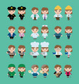 career character vector image