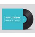vinyl 33 rpm mockup 01 vector image