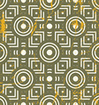 Old geometric seamless pattern vintage repeat vector image