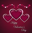 Valentine Day Banner vector image