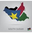south sudan vector image vector image