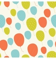 Retro Patterned Balloons vector image