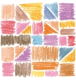seamless pattern pencil strokes vector image