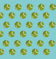 tennis ball object background decoration vector image