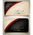 Abstract Gift Card vector image