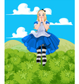 Alice Grow-up vector image