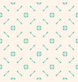 vintage floral seamless pattern ornament texture vector image
