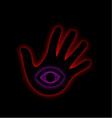 The All Seeing Eye- illuminati vector image vector image