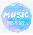 music Art vector image