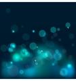 bokeh blue background vector image