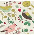 bird nature background vector image vector image
