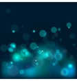 bokeh blue background vector image