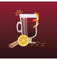 mulled wine vector image