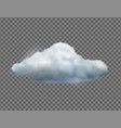 single weather icon vector image