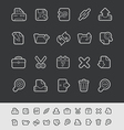 Web Icons vector image vector image