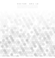abstract 3d hexagonal Background vector image