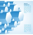 Abstract 3d-dimensional background vector image