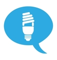 bulb light eco energy icon vector image