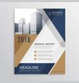real estate brochure design vector image