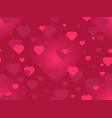 valentines day 14 february seamless pattern vector image