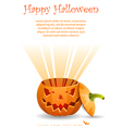 Greeting Card Halloween vector image