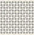 monochrome geometric texture asian ornament vector image