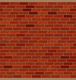 scratched brick wall texture seamless pattern vector image