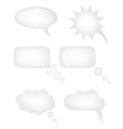 speech bubbles dreams vector image