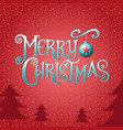 merry christmasamp happy new year type vector image