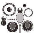 Tennis Set vector image