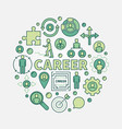 career opportunities colorful vector image
