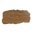 Wooden Background With Rip Paper vector image