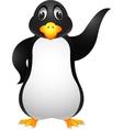 Penguin cartoon vector image