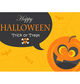 Poster for Halloween Party Night vector image