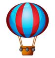 A hot air balloon vector image