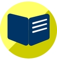 Book or education icon of set flat vector image