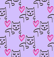 Cat Patterned Background vector image