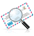 Concept - Search E-Mail vector image vector image