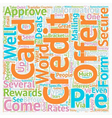 You ve Been Pre approved text background wordcloud vector image