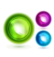 Liquid buttons vector image