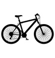 bicycle 12 vector image