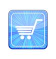 version Shopping icon Eps 10 vector image vector image