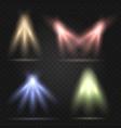 stage lighting set vector image