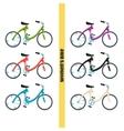 Womens Bike One vector image