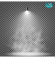 light bulb illuminated realistic vector image