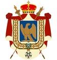 Coat Imperatoratora France of Napoleon vector image vector image