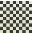 Wooden chess board pattern vector image