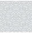 Grey seamless pattern vector image