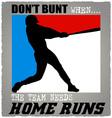Batter baseball vector image