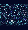 seamless pattern with stars deep space vector image